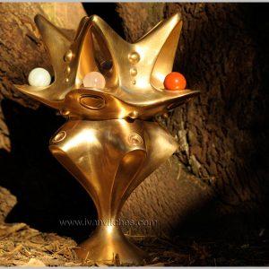 Holocosmic sculpture Bronce Sheladia6