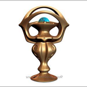 Holcosmic sculpture cosmic Thariel