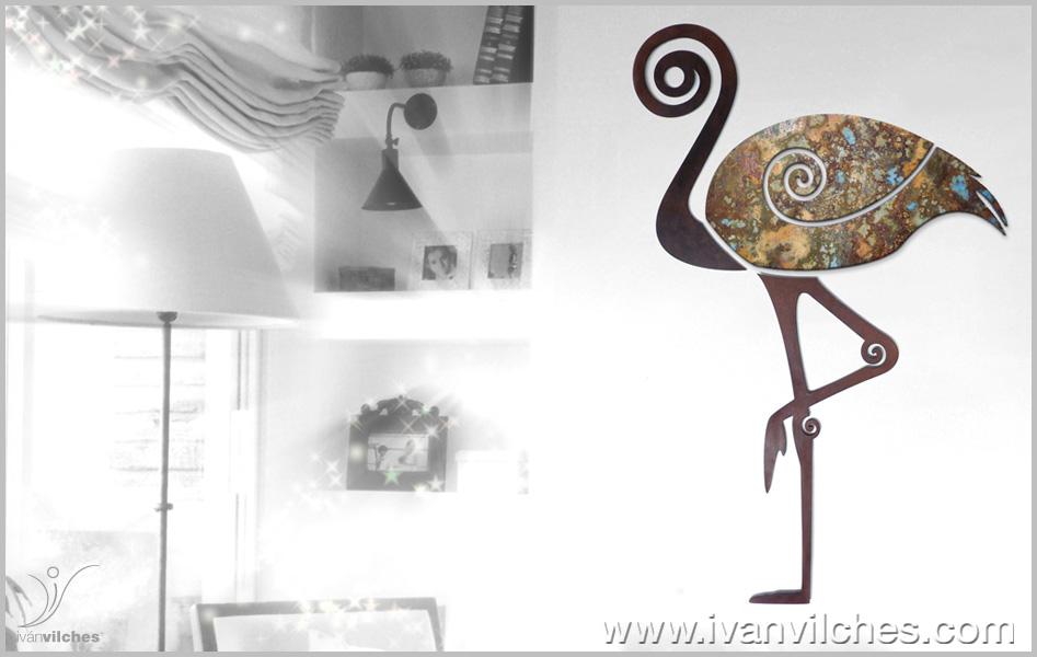 sculpture de wall Armoniosa Presencia