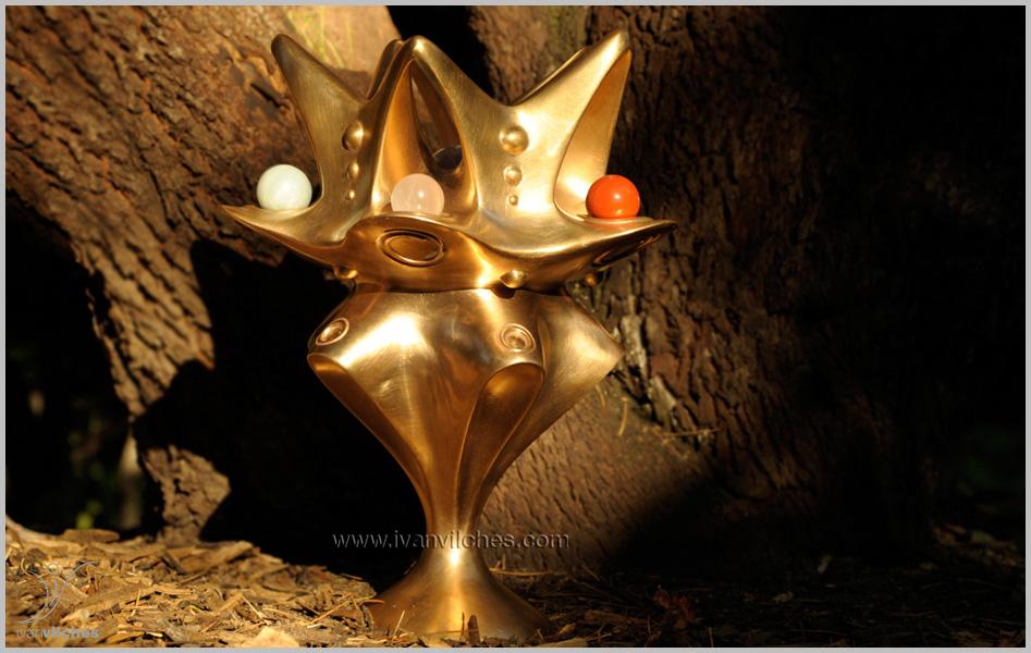 Holocosmic Escultura Bronce Sheladia6