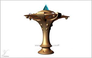 Holcosmic Escultura Cosmica Elvet
