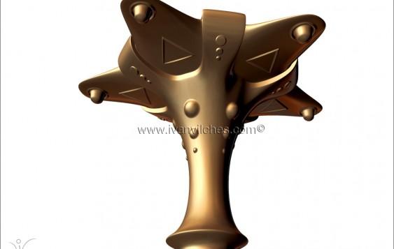 Holcosmic Escultura Cosmica Elvet3