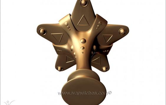 Holcosmic Escultura Cosmica Elvet4