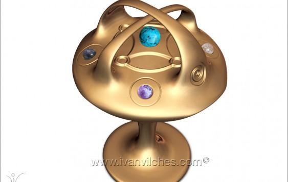 Holocosmic Escultura Cosmica Kimdhia3