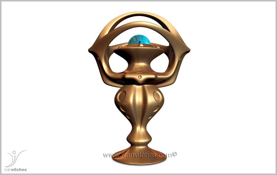 Holcosmic Escultura Cosmica Thariel