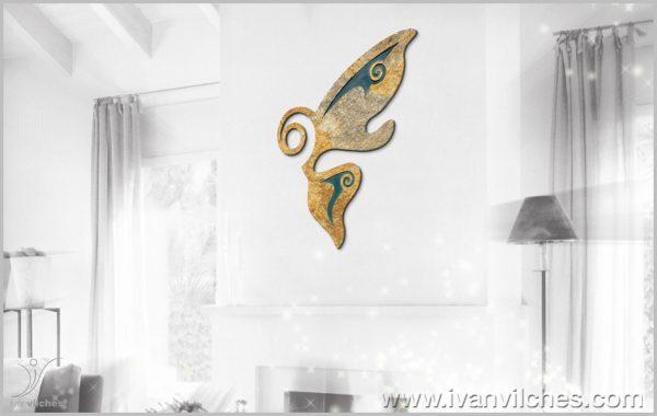 Escultura de Pared Almamorfosis