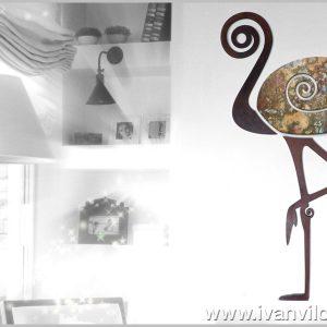 Escultura de Pared Armoniosa Presencia