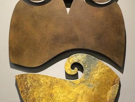 Escultura de Pared Buho2