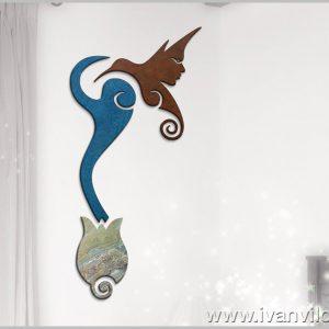 Escultura de Pared Sinergia al Alba