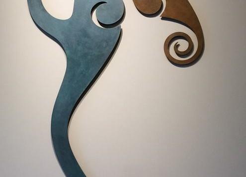 Escultura de Pared Sinergia al Alba 2