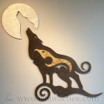 Escultura de Pared Lobo2